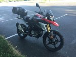 Scarlet- G310 GS Racing Red